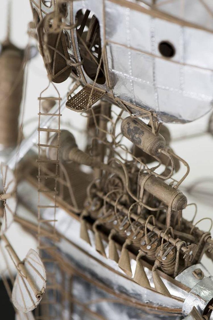 flying machine sculpture