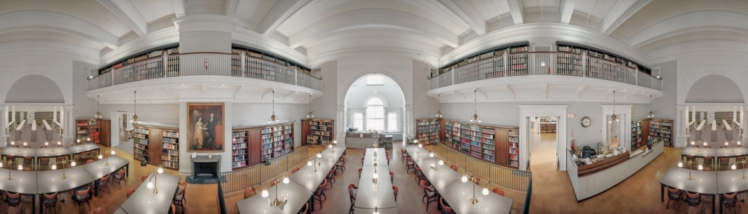 panoramas of american libraries