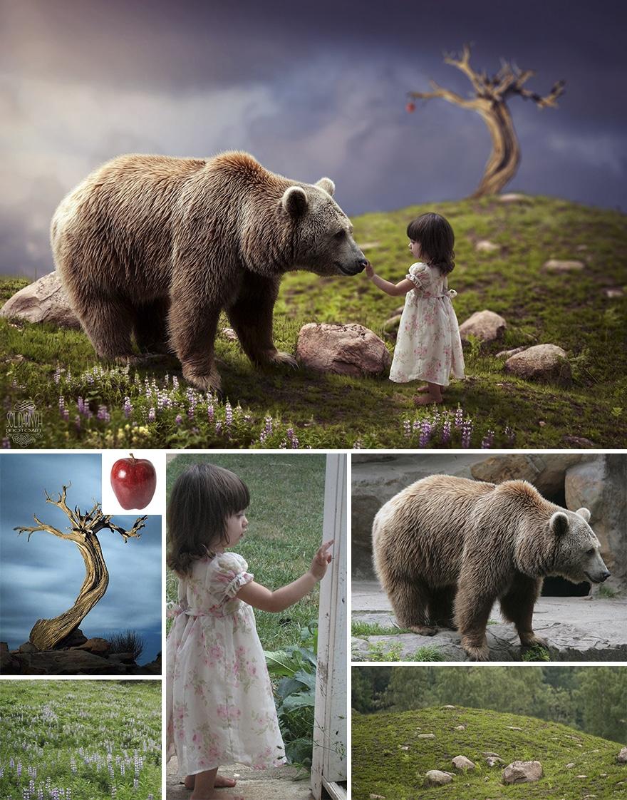 Photoshopped Composite Images Showcase Digital Artist's