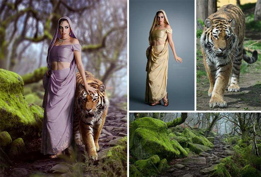 photoshopped composite images viktoria solidarnyh digital art photoshop