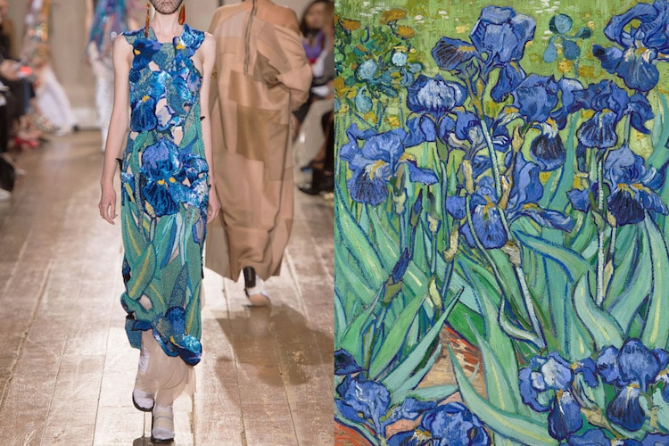 Side By Side Comparisons Show Unusual Sources Of Fashion Inspiration