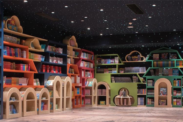 most creative bookstores around the world