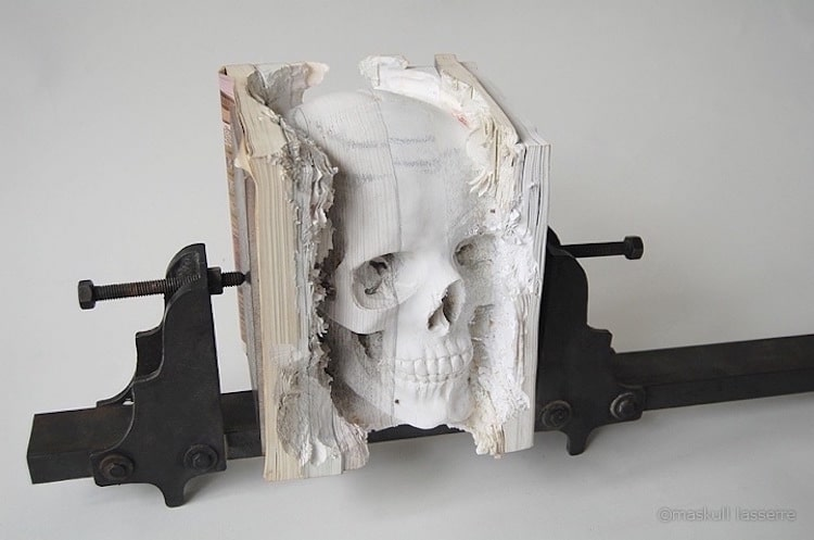 book art art made from books art installation book literary