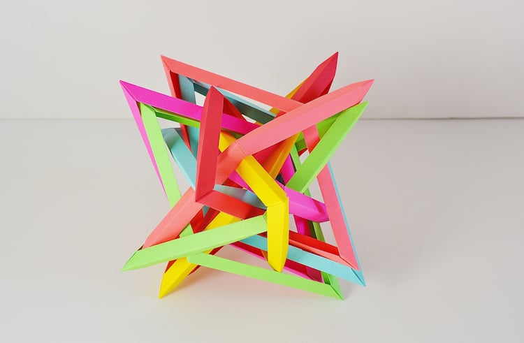 contemporary origami