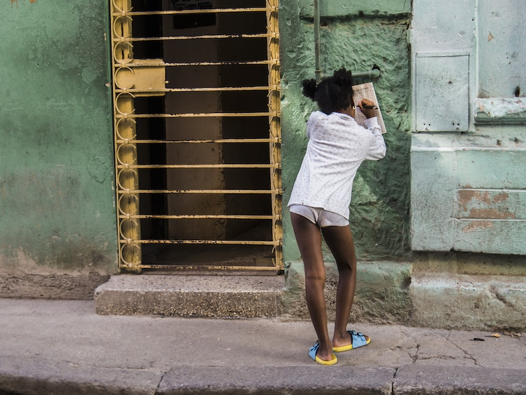 cuban women in havana