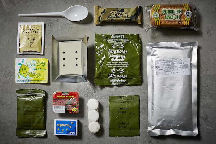 what troops eat in lithuania