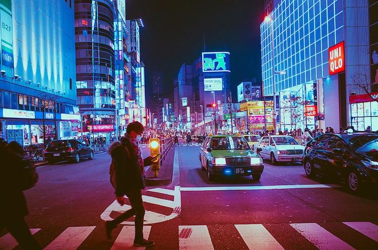Masashi Wakui Tokyo at night