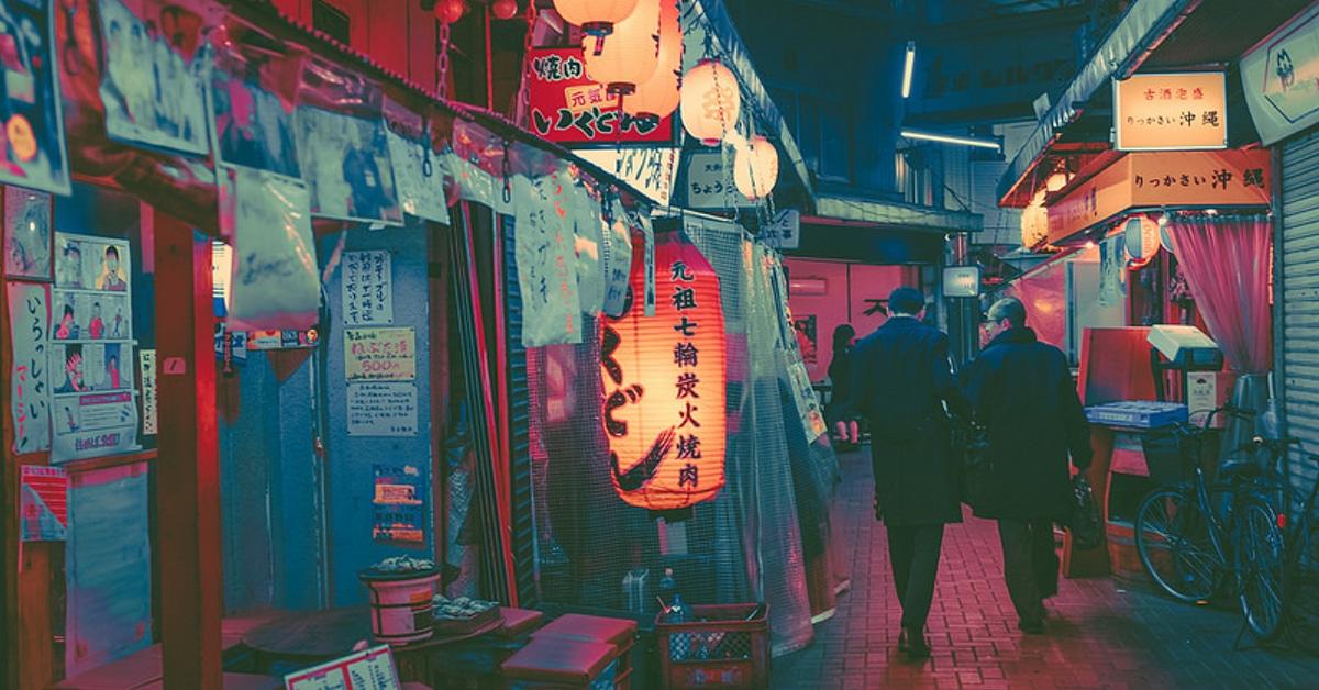 Tokyo At Night Awash In Neon Light By Photographer Masashi Wakui