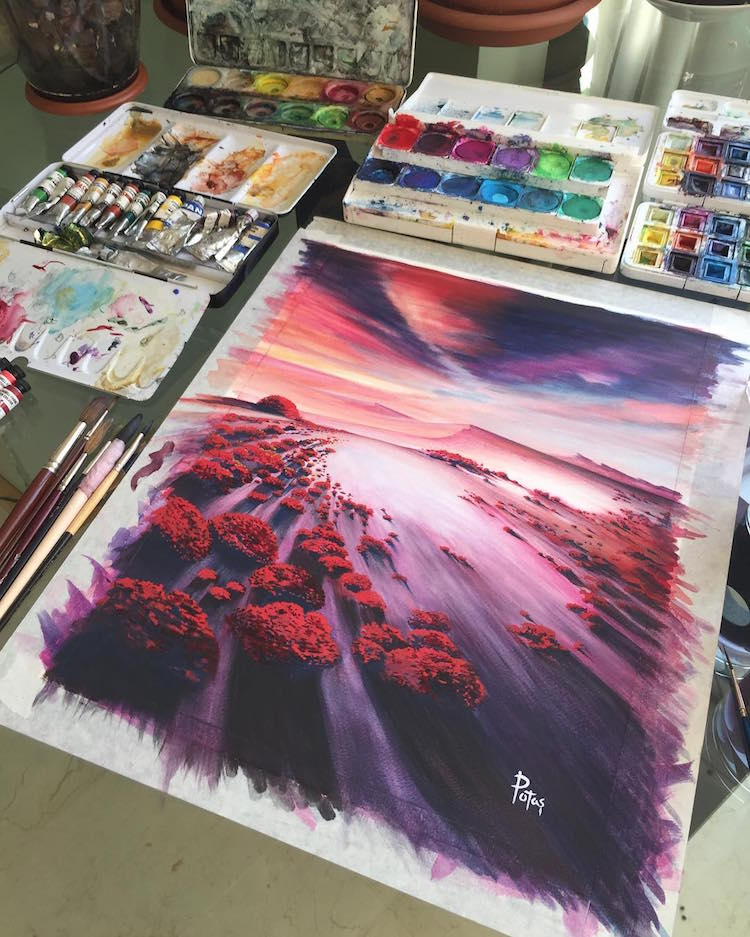 How To Paint Watercolor Landscapes