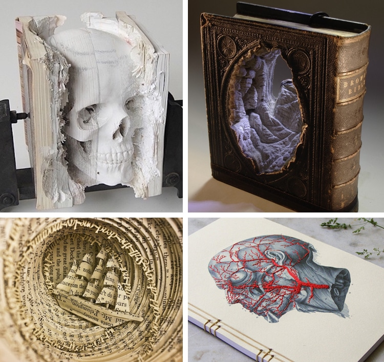 Exceptional Amazing Book Art