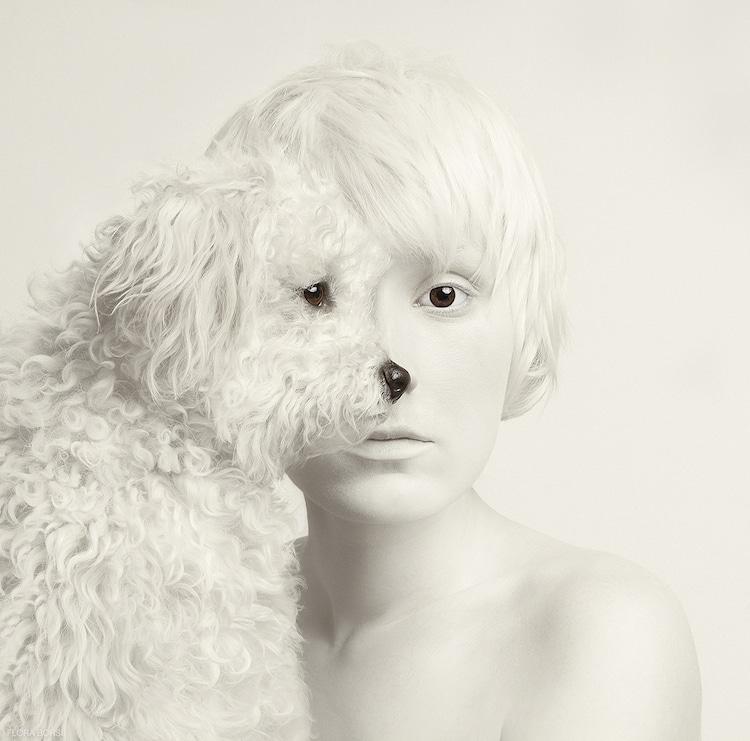 Animeyed Flora Borsi Animal Faces Animal Self-Portraits Photo Manipulation