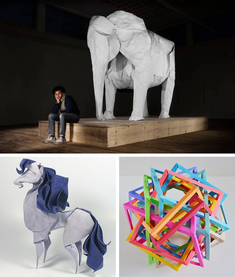 Los mejores artistas de origami