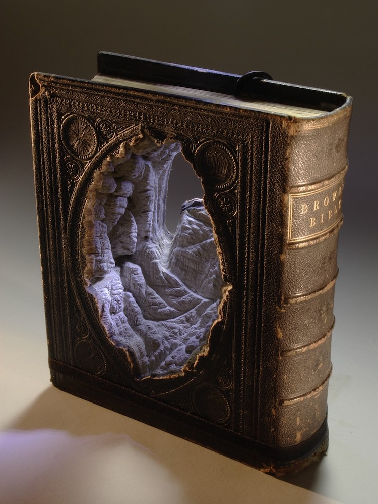 Book Art by Guy Laramée