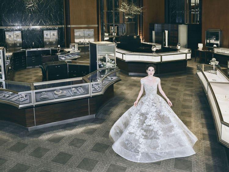 Breakfast at Tiffany's Wedding Dress