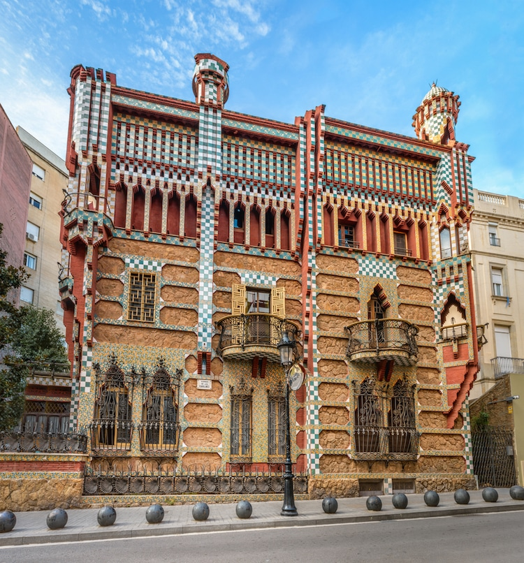 Casa vicens transforming into gaud museum in barcelona for Casa vicens gaudi
