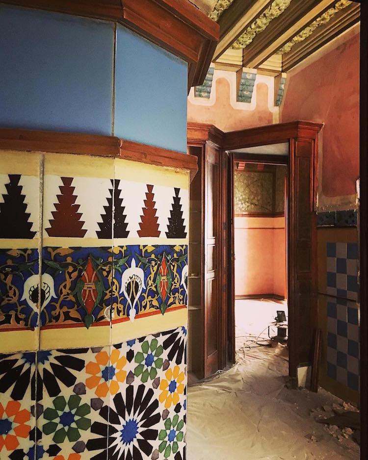 Casa vicens transforming into gaud museum in barcelona - Casa vives gaudi ...