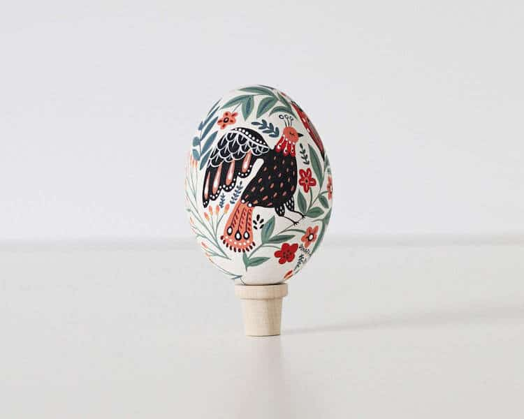 dinara mirtalipova mirdinara folk art easter eggs hand=painted porcelain eggs