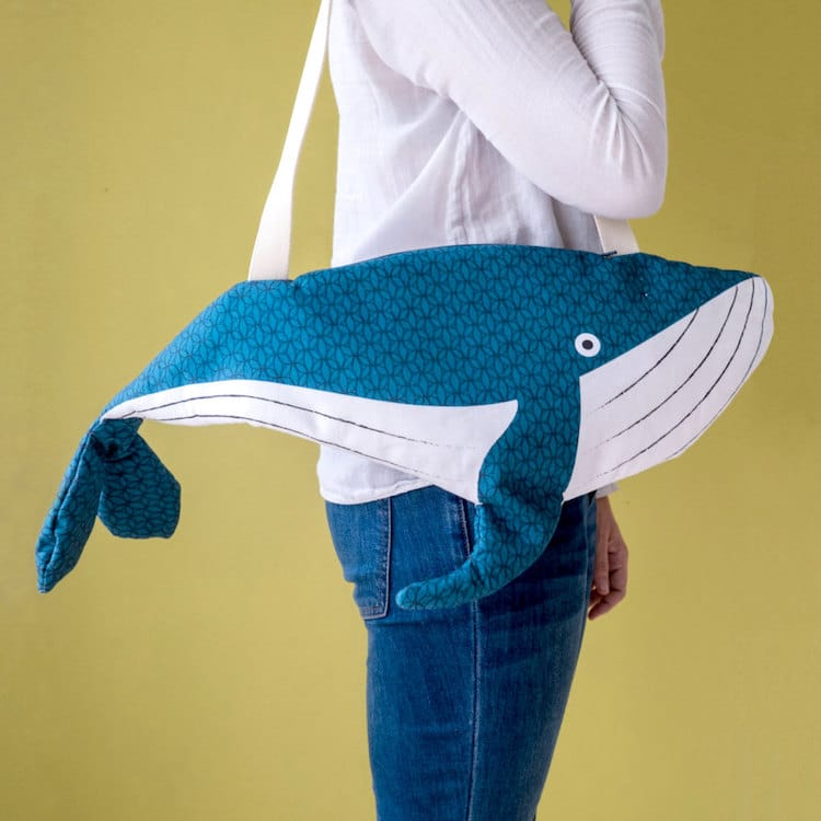 Big Whale Bag by Don Fisher