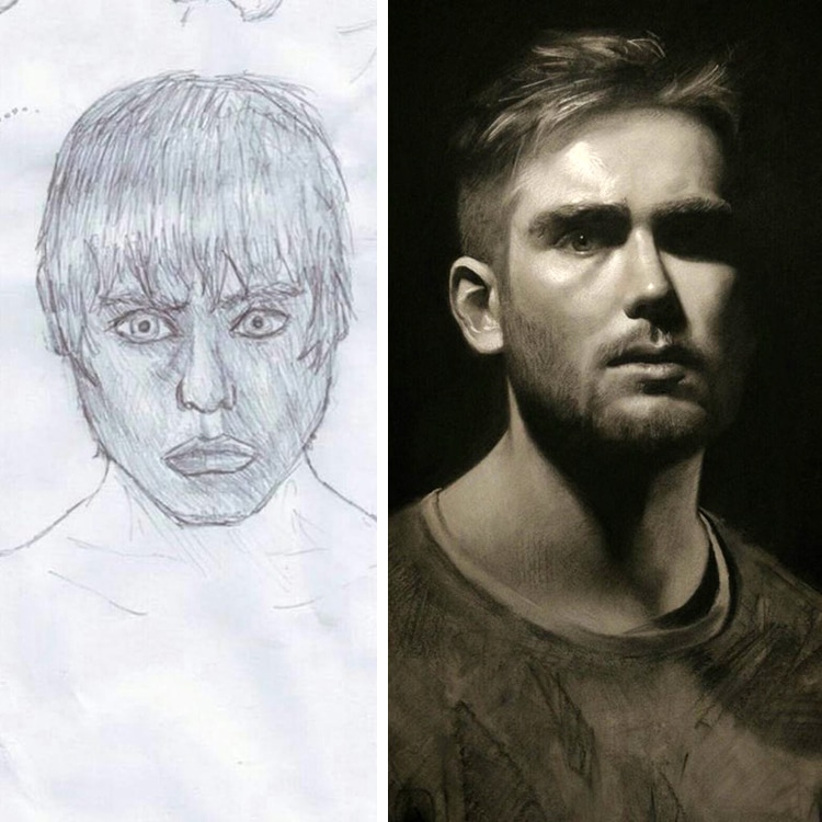 Draw This Again Challenge Técnicas de Dibujo