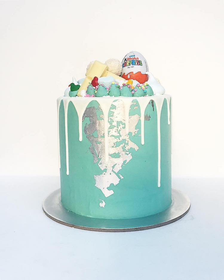 drip cakes food trend
