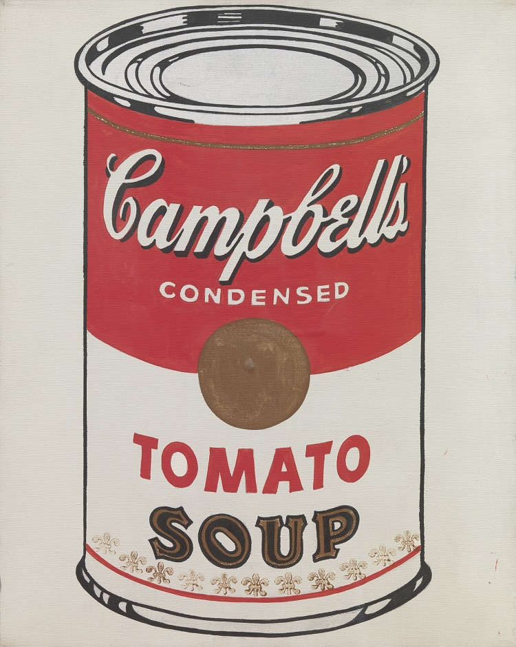 andy warhol soup can