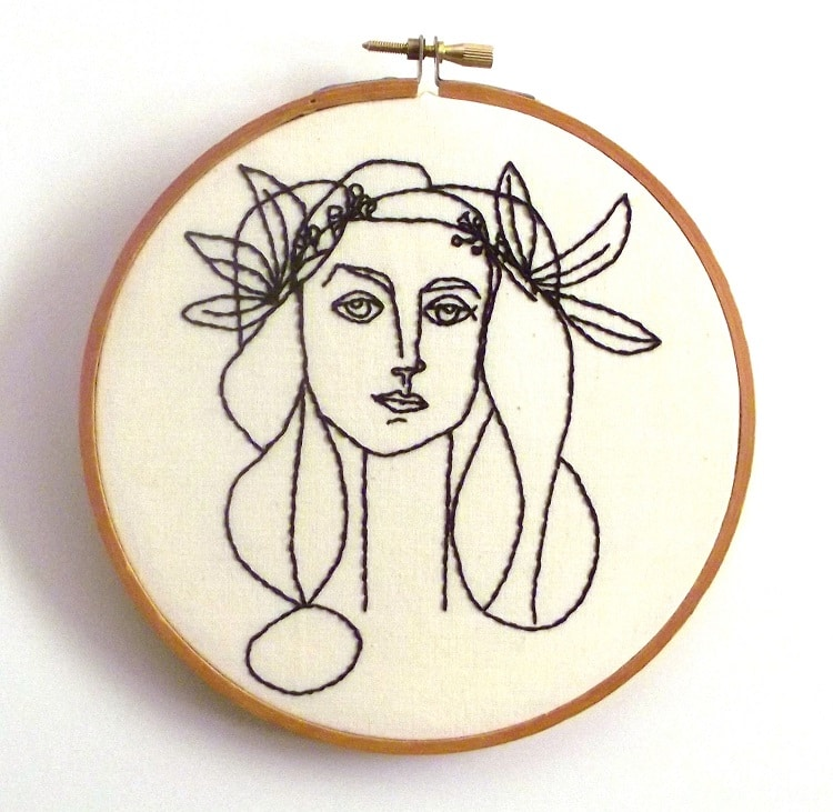 picasso embroidery