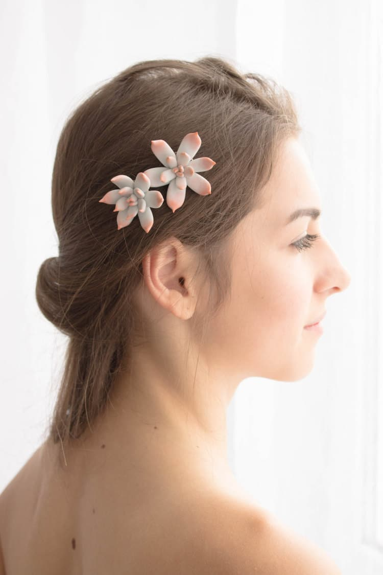 nature hair accessories