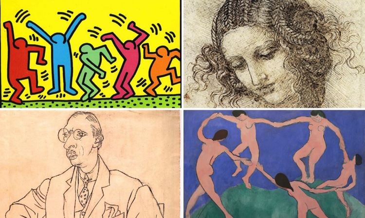 Contour Line Drawing People : Line art a look at the history of visual arts from