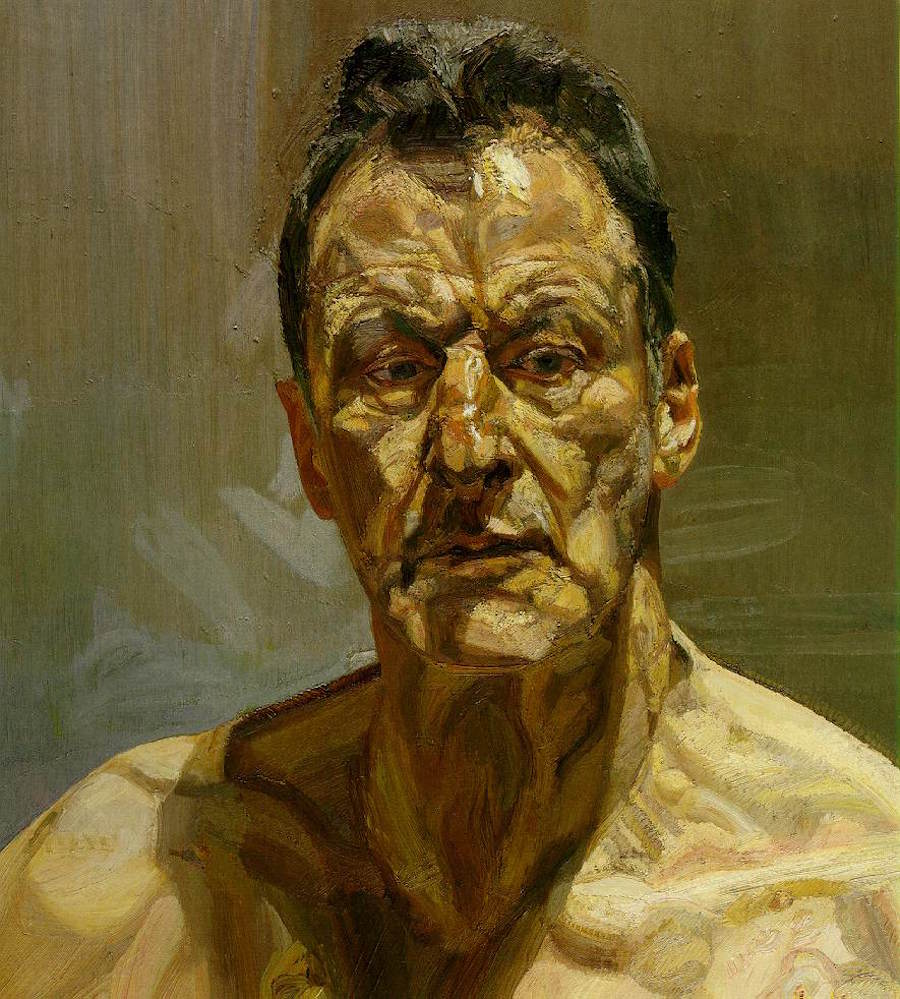 Famous Self-Portraits Art History Lucian Freud Famous Self Portraits