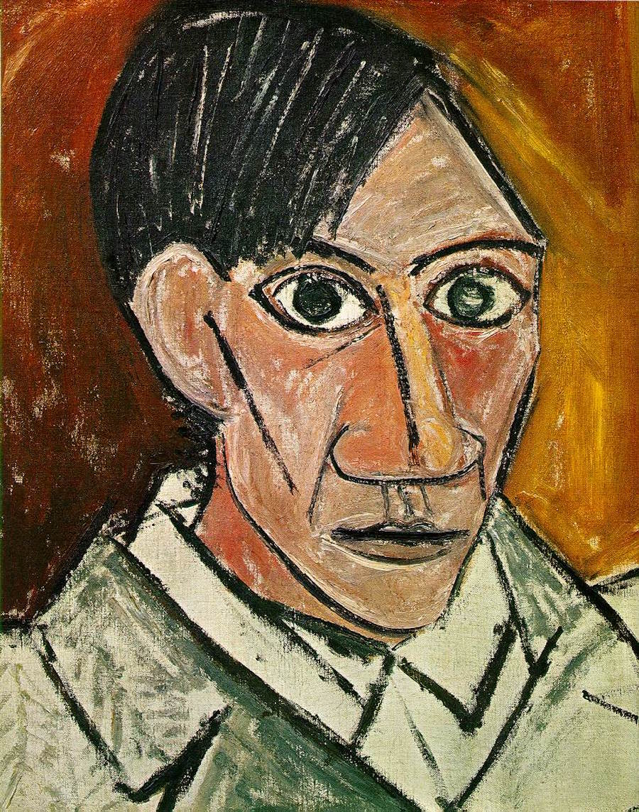 Famous Self-Portraits Art History Pablo Picasso Famous Self Portraits