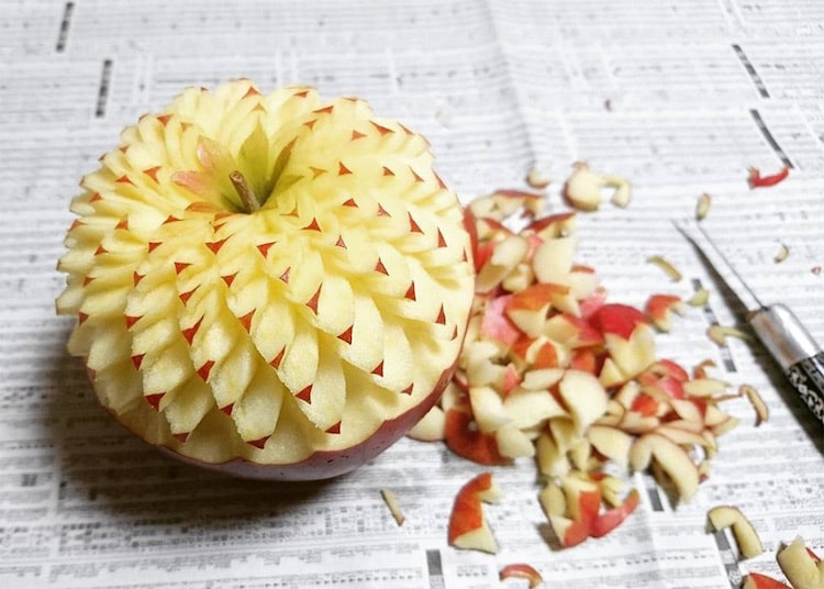 fruit carving mukimono
