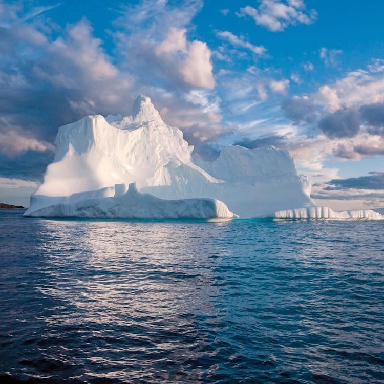 Moving Glacier