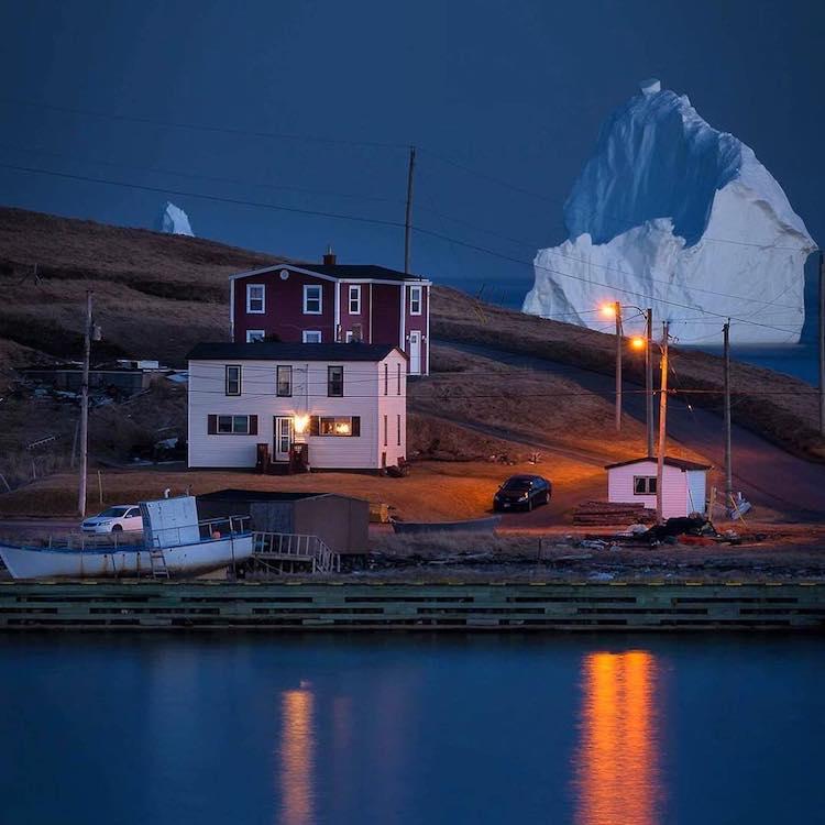 Giant Iceberg in Ferryland