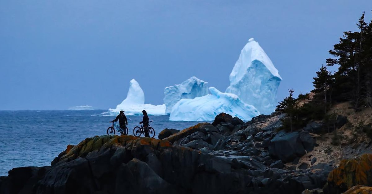 150 Foot Tall Giant Iceberg Looms Just Beyond The Canadian