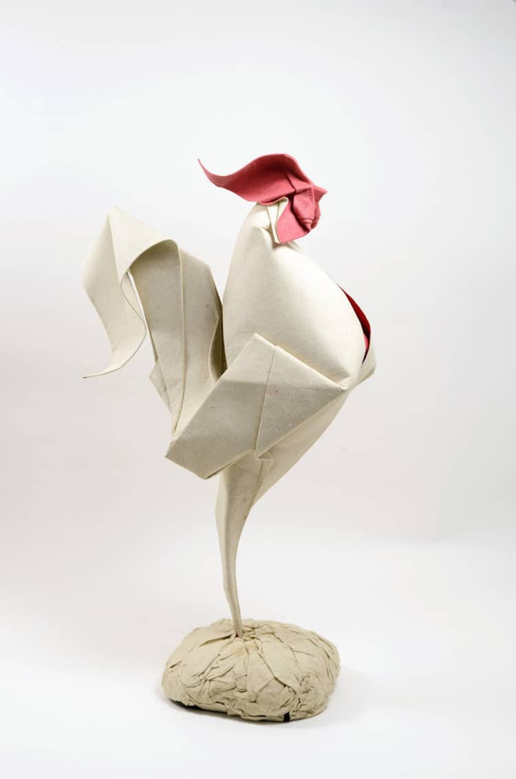 hoang tien quyet wet fold origami