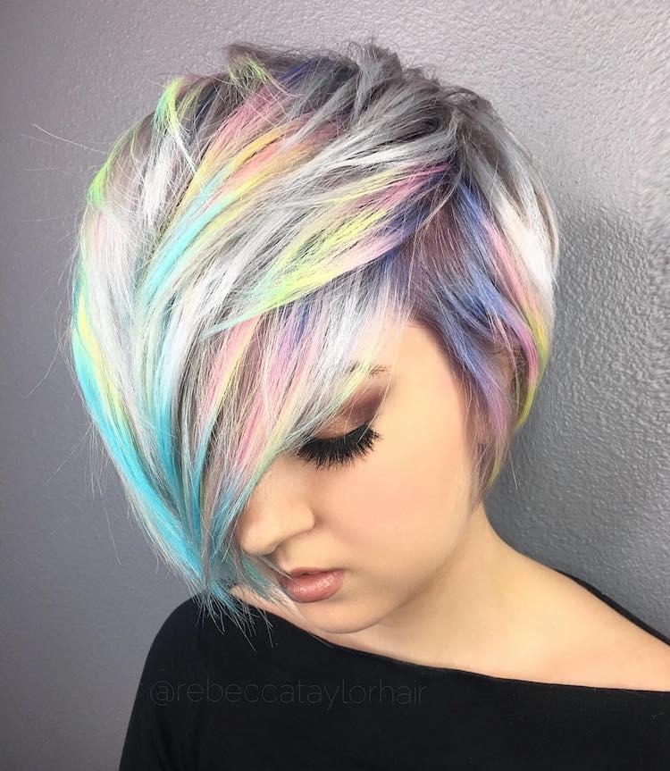 Znalezione obrazy dla zapytania hair holographic