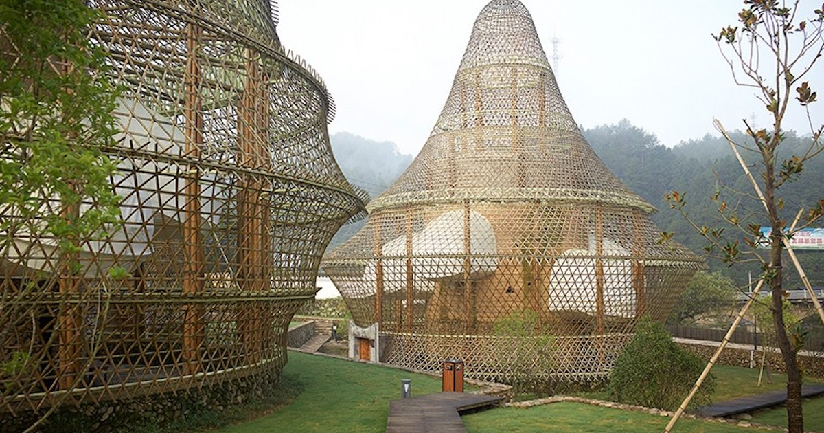 Incredible Bamboo Architecture In Baoxi China Due To