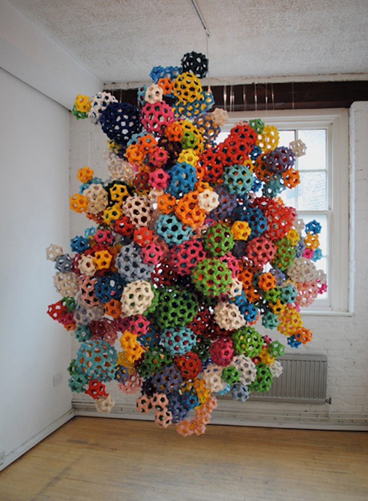 james roper paper art installation