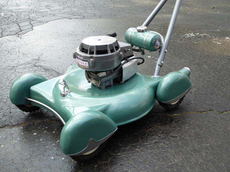 Diy Lawn Mower Looks Like A Classic Car