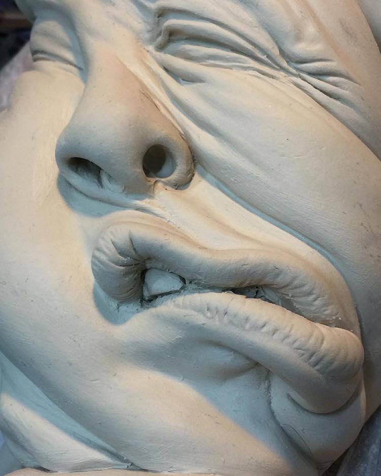 surreal sculptures