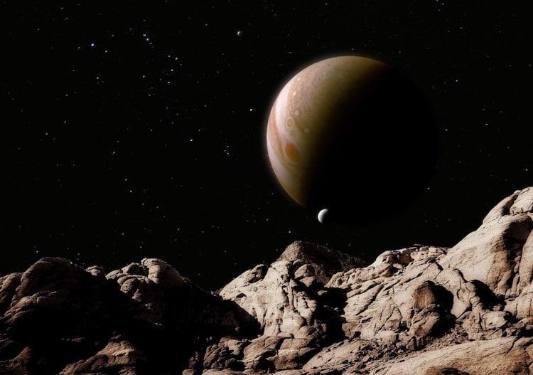 Artist Rendering of Jupiter