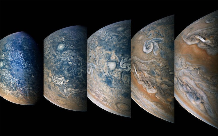 Juno Probe Photos