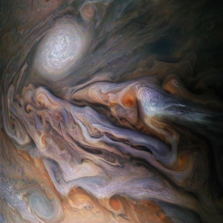 Jupiter Cloud Cover