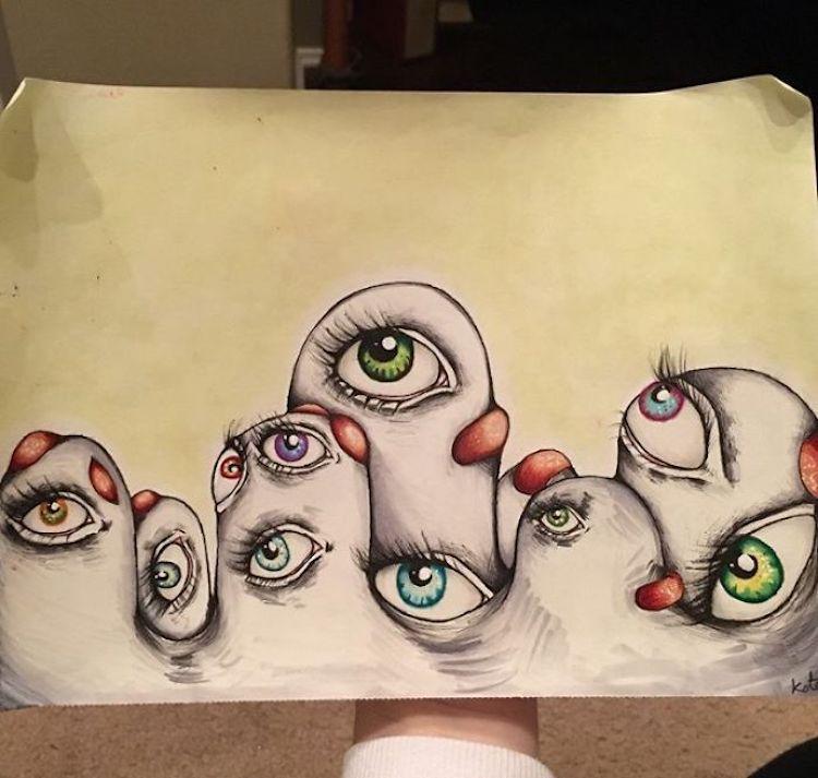 Schizophrenia Drawings