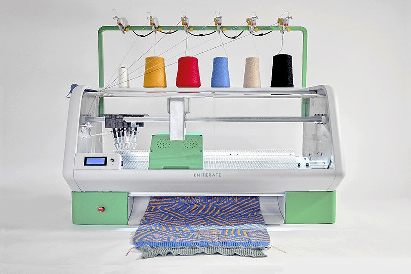 kniterate digital knitting machine 3-d printing 3d printing knitting design technology