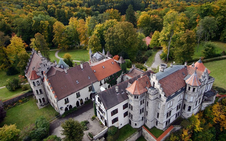 Lichtenstein Castle tour