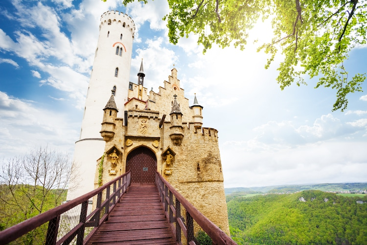 Lichtenstein Castle facts