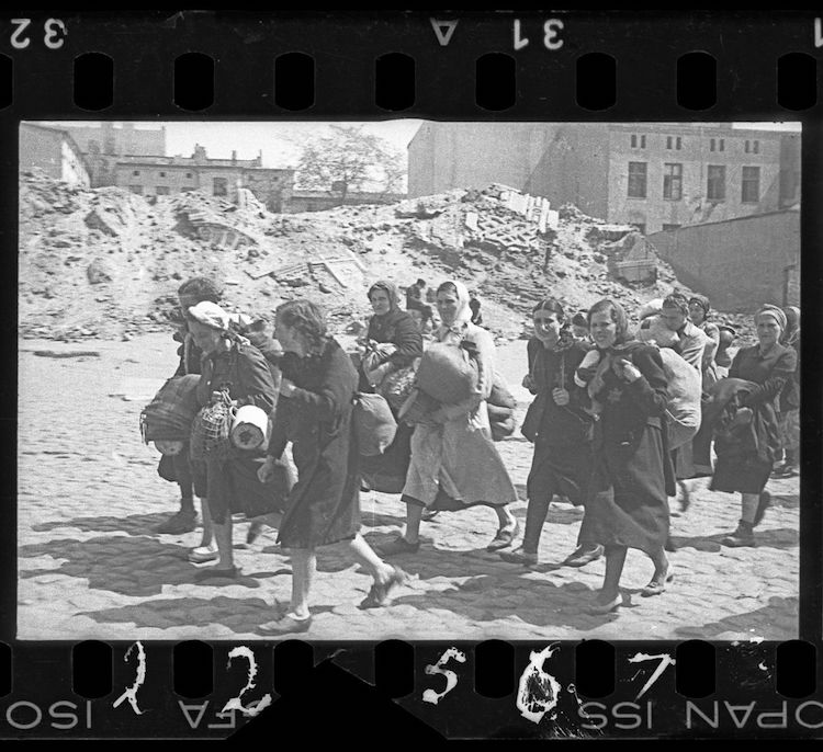 life in poland during wwii