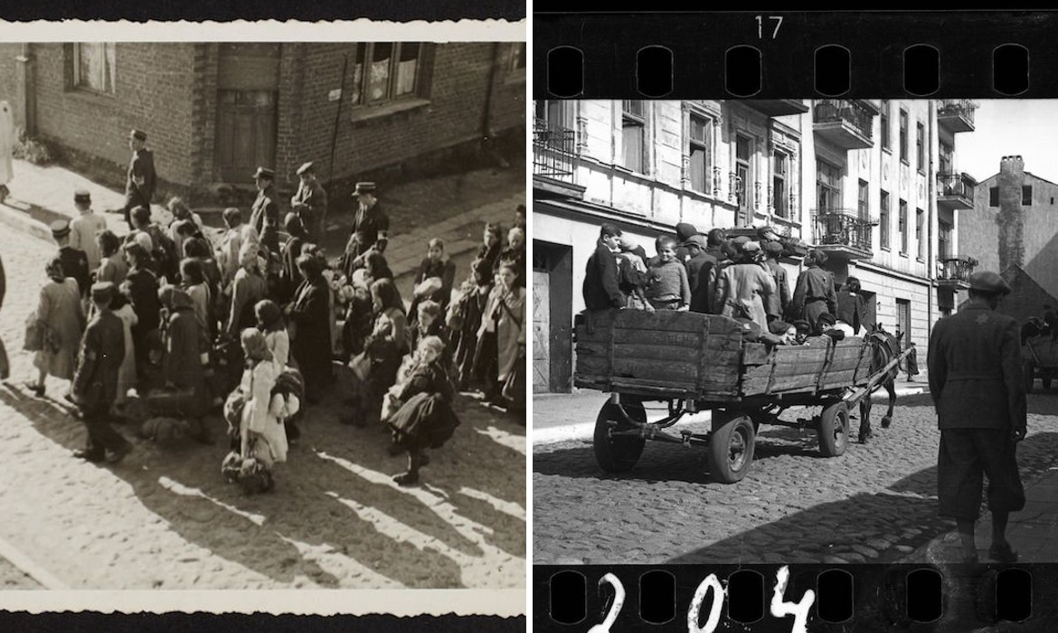 lodz ghetto life during wwii