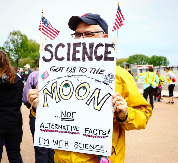 Science March Signs